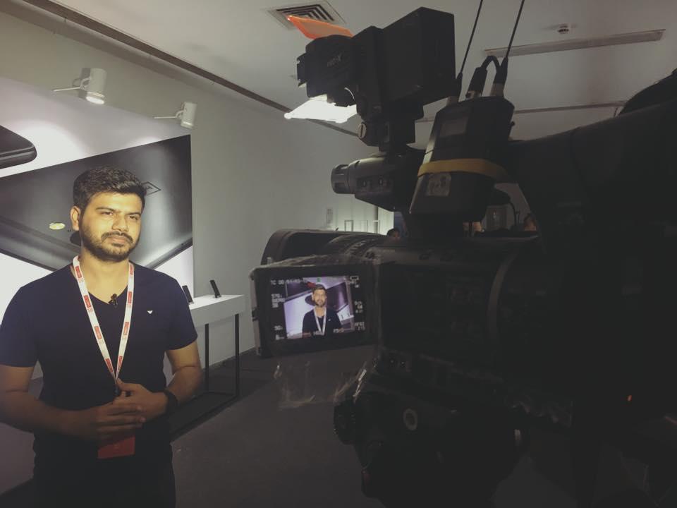 Nikhil Chawla on TV